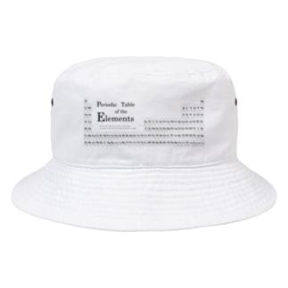 理数系グッズ 元素周期表バケットハット Bucket Hat