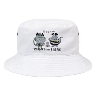 ふろあがりちゃん&弟子 蜂バージョン Bucket Hat