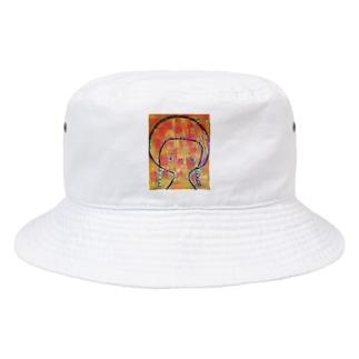 虹色のワンピース Bucket Hat