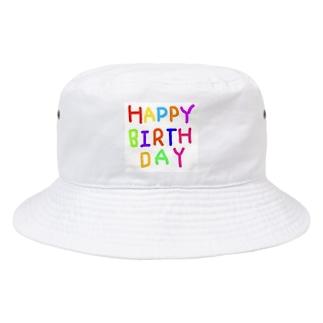 HAPPYBIRTHDAYーお誕生日専用 Bucket Hat