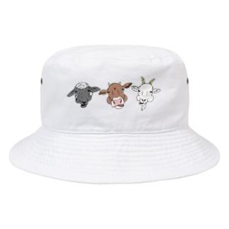 反芻中のどうぶつたち Bucket Hat
