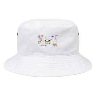 ぽしゃ猫グッズ Bucket Hat