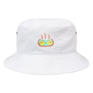 ひよこ温泉狂 Bucket Hat