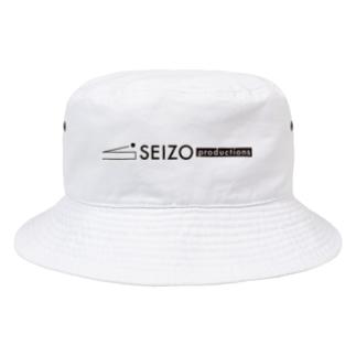 SEIZO - LOGO iTEM Bucket Hat