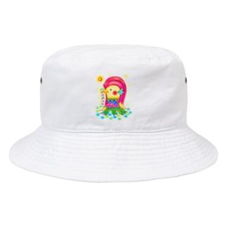アマビエサマ Bucket Hat