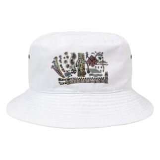 キリンさんぼん他 Bucket Hat
