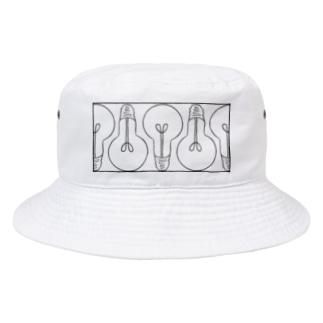 まめでんきゅう。 Bucket Hat