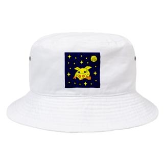 宇宙機動ロボ『ピッグボール宇宙(そら)』 Bucket Hat