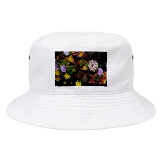 harucamera 花壇 Bucket Hat