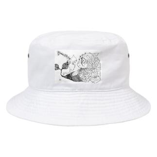 ぐりーでぃー 「撲殺」 Bucket Hat