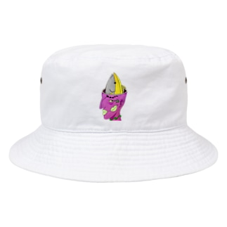 脳味噌マグロちゃん Bucket Hat
