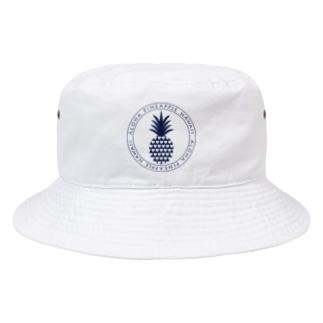 パイナップル 25 (heart) Bucket Hat