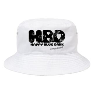 I.gasu🄬アイガスワールドのブルーダックスイーパーレディース Bucket Hat