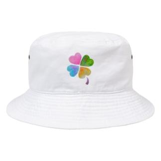 しあわせくろーばー Bucket Hat