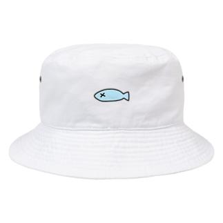 ダメになってしまった魚 Bucket Hat