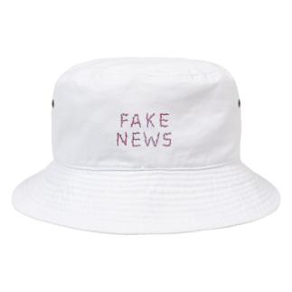 フェイクニュース Bucket Hat