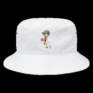 Rock catのCAT GIRL キャンディ Bucket Hat