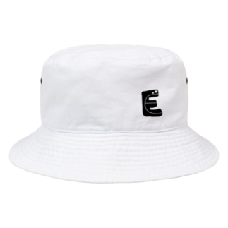 alphabetMONSTAR【E】 Bucket Hat