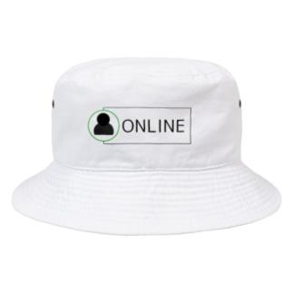 ONLINE オンライン Bucket Hat