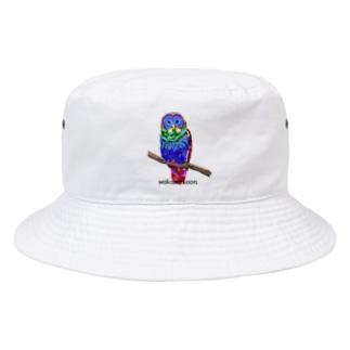 ふくろうちゃん 枠なし Bucket Hat