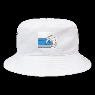 ぺゃんshopの水が気になるねこ Bucket Hat