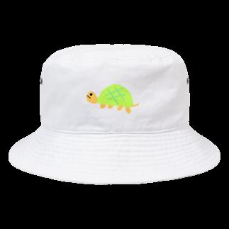 ChaNshopのかめのつもり Bucket Hat