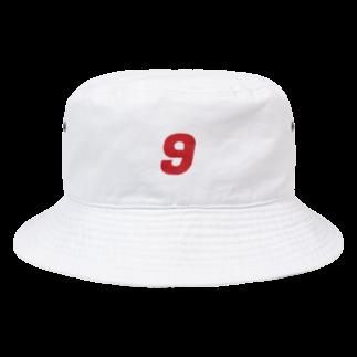 y u u k aのNO.9 Bucket Hat