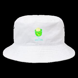 hibikataru.の夏が待ちきれなさソーダ Bucket Hat