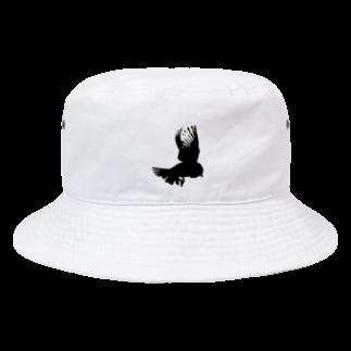 あおき。のsuzume Bucket Hat