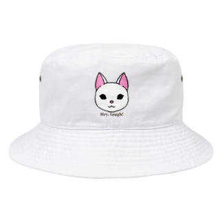 enu. のHey, laugh!(白猫) Bucket Hat