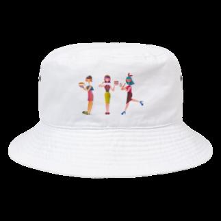 tomokaのケーキ屋さんの3姉妹 Bucket Hat
