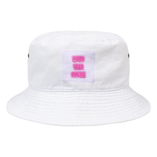 Mofkisses  🍮の手を洗おう  Bucket Hat