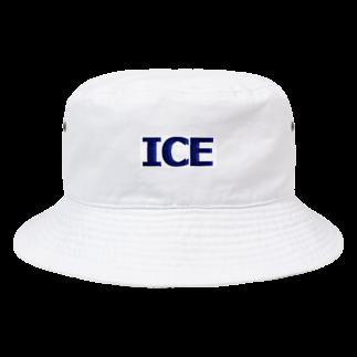 アメリカンベースのアイス Bucket Hat