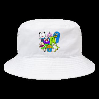 うめもと公式のドリームチーム Bucket Hat