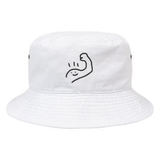 筋肉くんはいかが? Bucket Hat