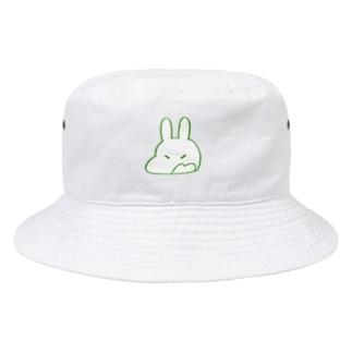 ウサかえるさん(おこ) Bucket Hat