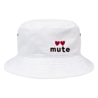 ♡mute♡ Bucket Hat