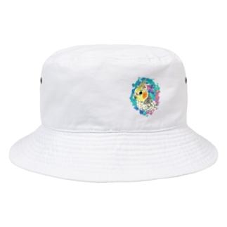 パールのオカメちゃん Bucket Hat