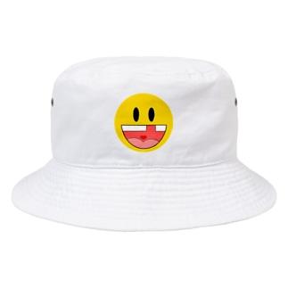 ホットパワーズみくら👺の工場長のガハハ Bucket Hat