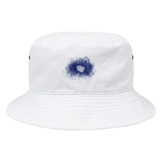 スネア打痕 BLUE Bucket Hat