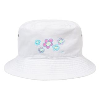にこにこフラワーぱすてる Bucket Hat