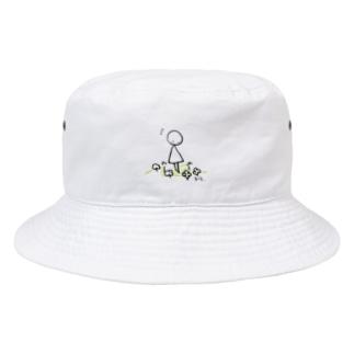 まるさんかくの日々 いいことみつけた Bucket Hat