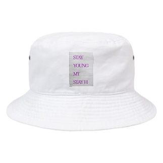 STAY YOUNG MORE THAN STAY HOME Bucket Hat
