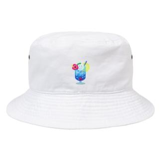 Yokokkoの店のSmile in Cream Soda🍹 Bucket Hat