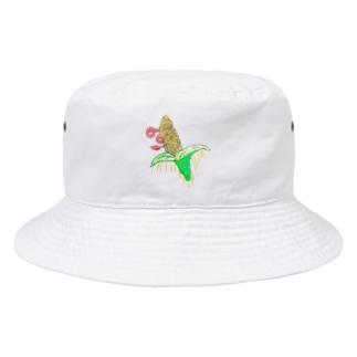 ビックリとうきび Bucket Hat