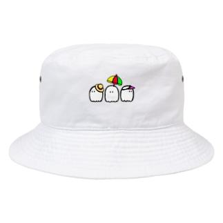 みんなで日よけ Bucket Hat