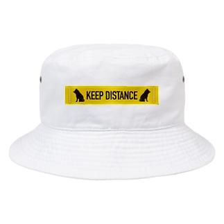 KEEP DISTANCE Bucket Hat