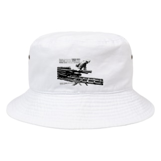 ソリを引く Bucket Hat