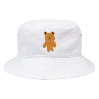 くまさんシリーズ! Bucket Hat