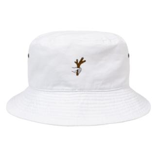 枝を持っている Bucket Hat